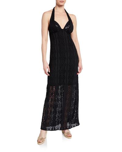 Iris Oiseau Long Beach Dress