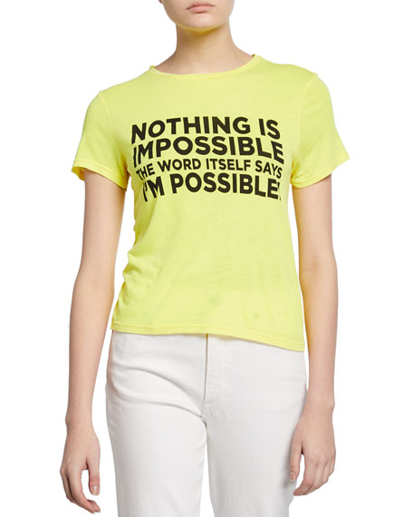 """Cicely Classic """"I'm Possible"""" Tee"""