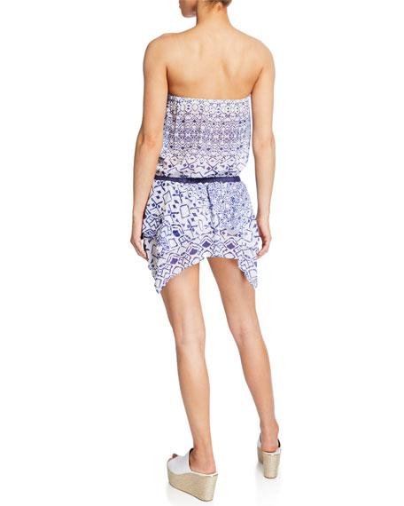Salima Printed Sleeveless Dress