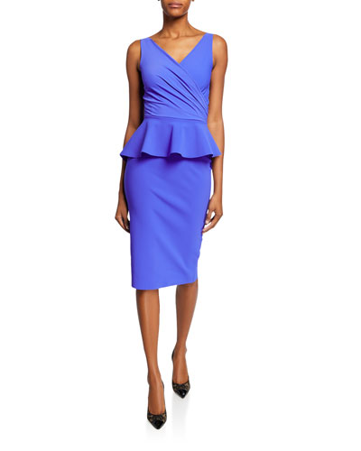 d67479eb Nelinka Sleeveless Peplum Cocktail Dress Quick Look. Chiara Boni ...
