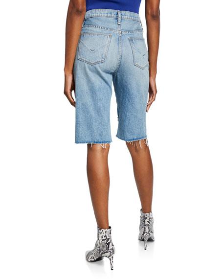 Sloane Long Cutoff Shorts