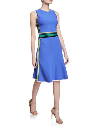 Roshea Striped Skirt
