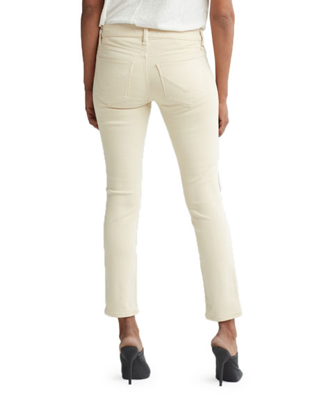 Tally Mid-Rise Skinny Cropped Jeans
