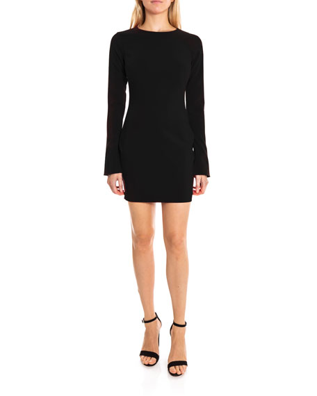 Likely Dresses MANHATTAN LONG-SLEEVE MINI DRESS