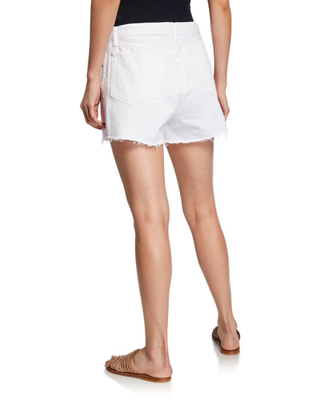 Le Stevie Raw-Edge Shorts