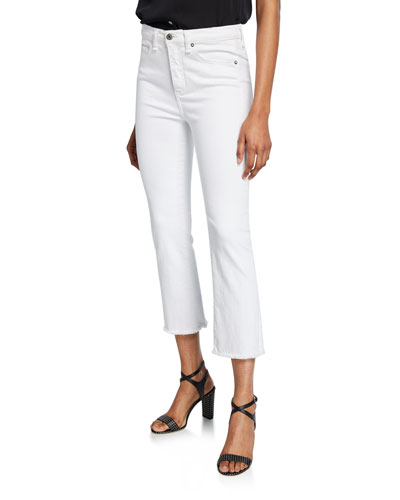 Carly Kick Flare Cropped Jeans