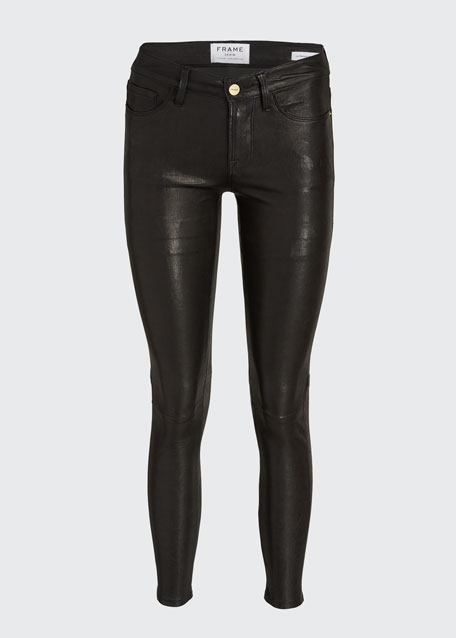 Le Skinny Leather Pants