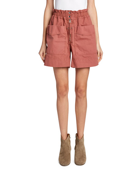Lizy Mid-Rise Utility Shorts
