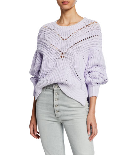 Loaded Knit Crewneck Pullover Sweater