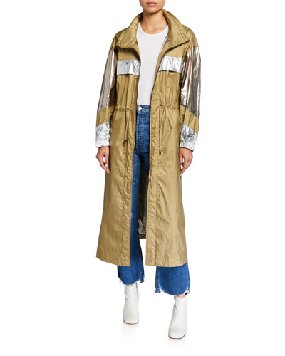 Koch Metallic Long Coat