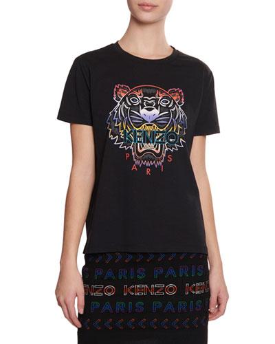 d811dc40 Gradient Tiger Logo T-Shirt Quick Look. Kenzo