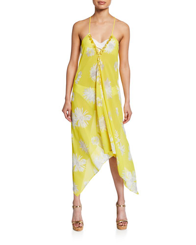 a86f500d88b1e4 Promotion Kym Printed Coverup Dress Quick Look. Ramy Brook