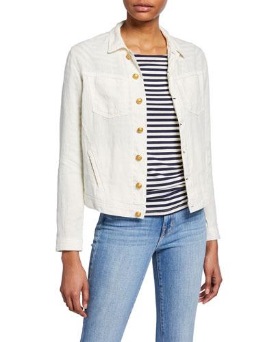 Celine Slim Linen Jacket