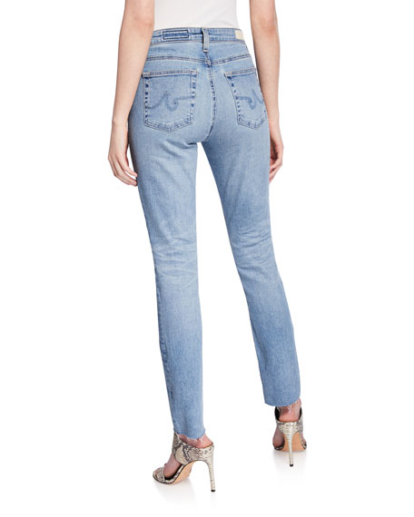 Mari High-Rise Straight-Leg Jeans