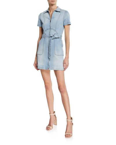 Gorgeous Zip-Up Mini Dress