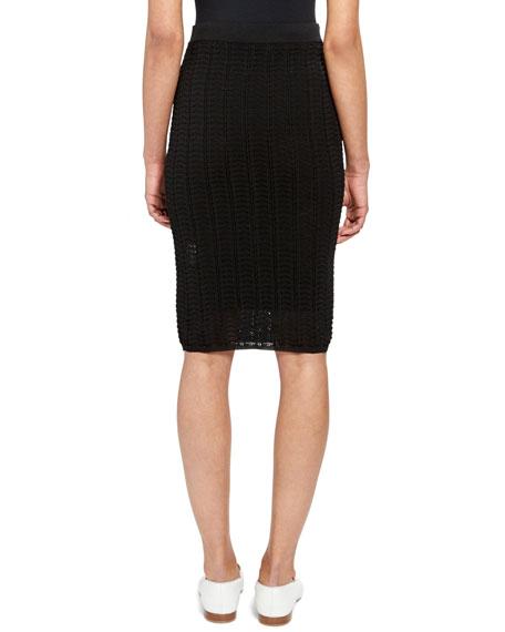 Crochet Body-Con Skirt