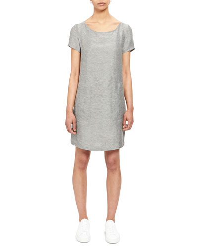 a706eb200ff Promotion Structured Linen Shift Tee Dress Quick Look. Theory