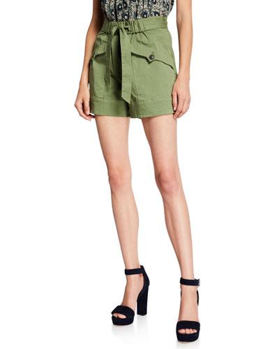 Tula Tie-Waist Cargo Shorts