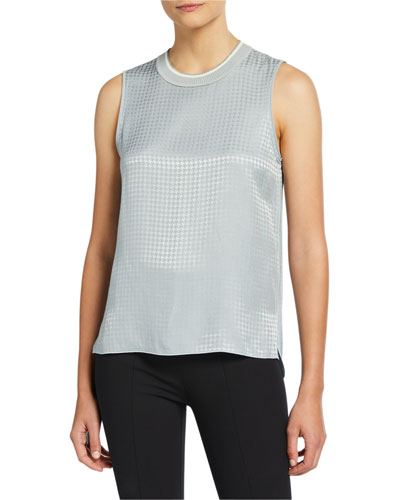 Ali Houndstooth Tank