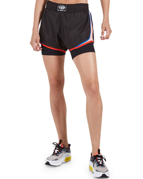 PE Nation Sonic Boom Running Shorts