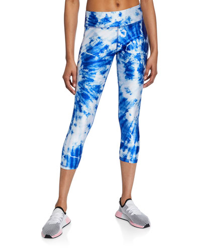 c0f207ddb00a18 Skys The Limit Tie-Dye Tall Band Capri Leggings Quick Look. Terez