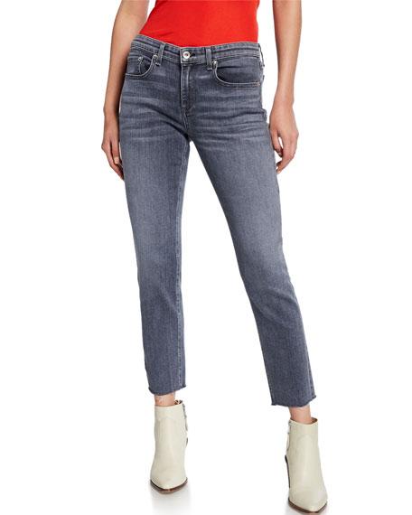 Dre Low-Rise Slim Ankle Boyfriend Jeans