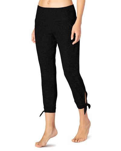 Keep It Easy Fold-Over Midi Sweatpants