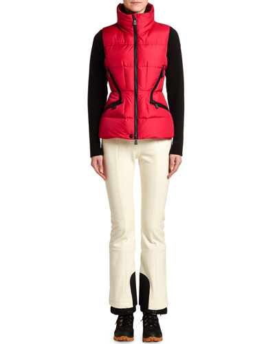 Fitted Puffer Vest