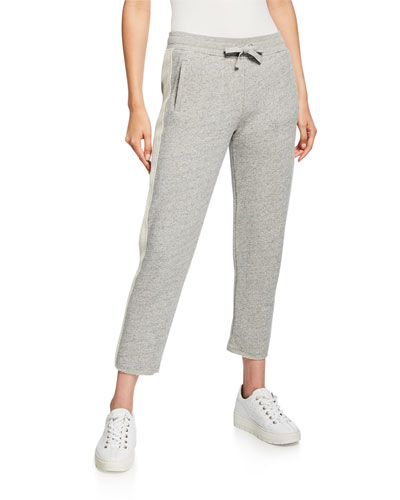 French-Terry Pull-On Pants