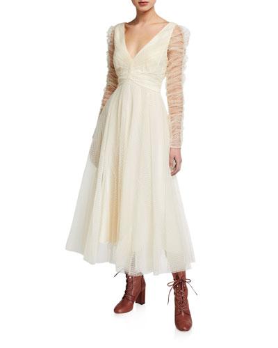 Espionage Long-Sleeve Tulle Ballet Dress