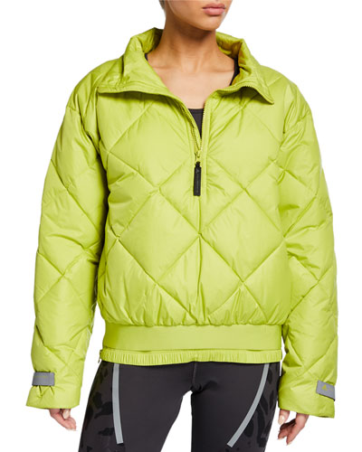 Padded Pull-On Active Puffer Jacket