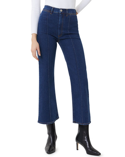 Nicolette Cropped Flare Jeans