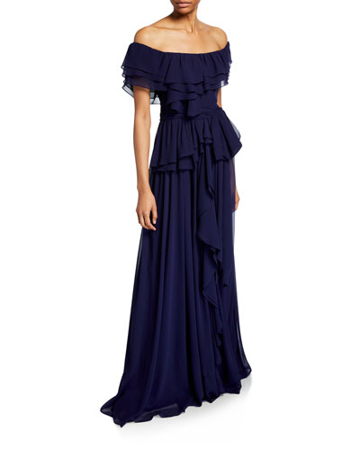 97a50d9138bed Designer Gowns at Bergdorf Goodman