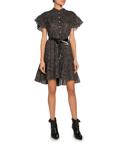Lanikaye Short-Sleeve Dress
