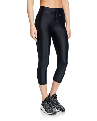 NYC Cropped Yoga Leggings