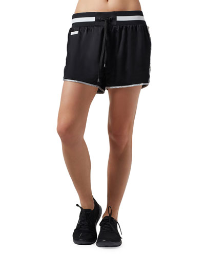 Sutra Ruched-Side Dolphin Shorts
