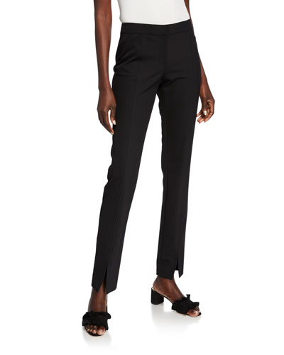 Waldorf Acclaimed Stretch Slim Pants w/ Front Slit