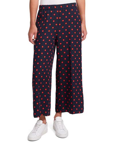 039b956f5d Raoka Polka-Dot Wide-Leg Pants Quick Look. Theory