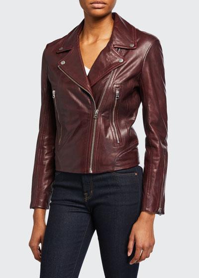 Mack Leather Moto Jacket