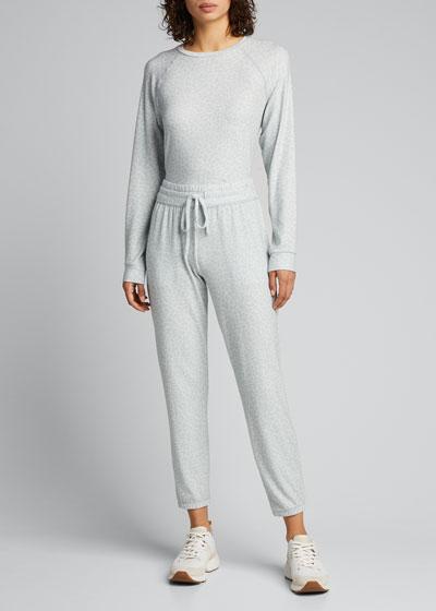 Living Easy Camo-Print  Sweatpants