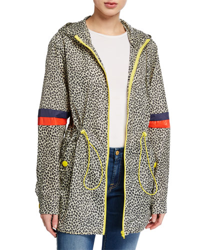 The Tamu Leopard-Print Parka Jacket