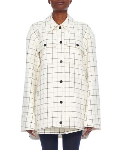 Windowpane Workman Coat