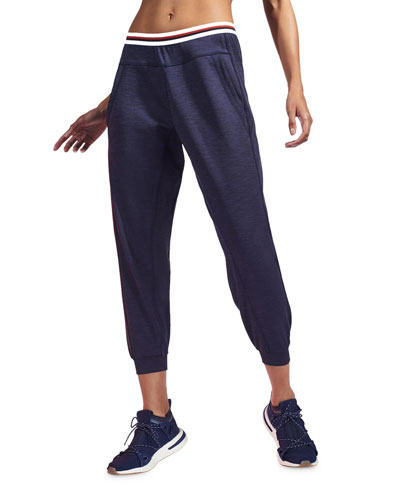 Solar Cropped Track Pants
