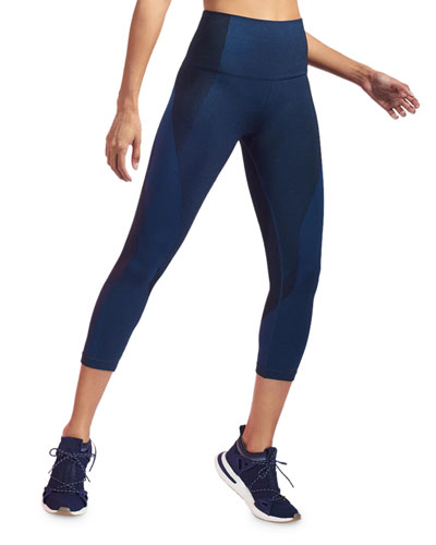 Launch Cropped Seamless Leggings