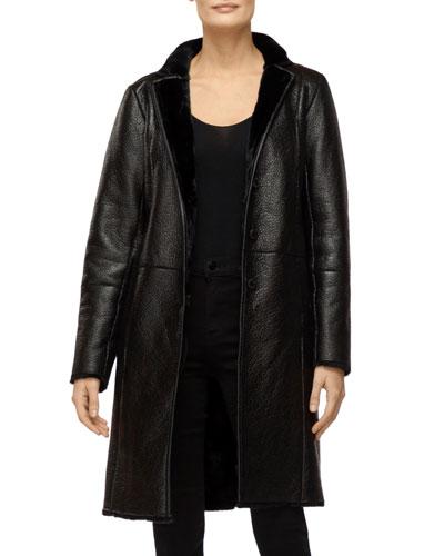 Charlette Faux Shearling Coat