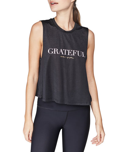 Grateful Active Crop Tank