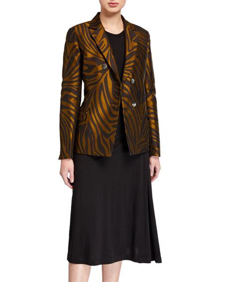 Zebra Jacquard Blazer