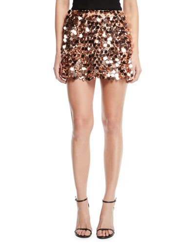 Meera Sequined Mini Skirt