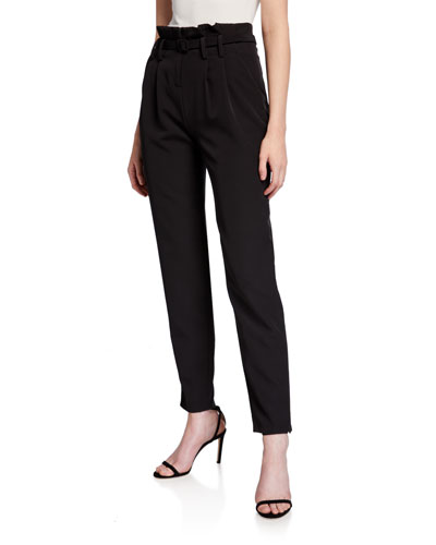 Paperbag Belted Trousers
