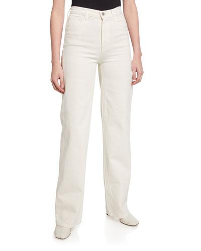 X Elsa Hosk Monday High-Rise Jeans